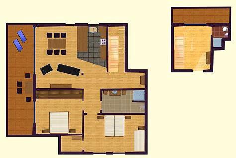 bleika dachgeschosswohnung nessler grundriss. Black Bedroom Furniture Sets. Home Design Ideas